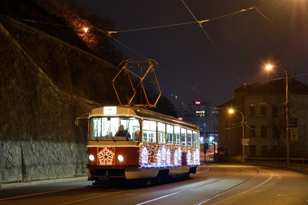 Fotogalerie » ČKD Tatra T3 1525 | Brno | střed | Husova
