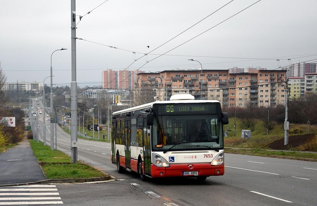 Fotogalerie » Irisbus Citelis 12M 6B6 6855 7653   Brno   Líšeň   Novolíšeňská