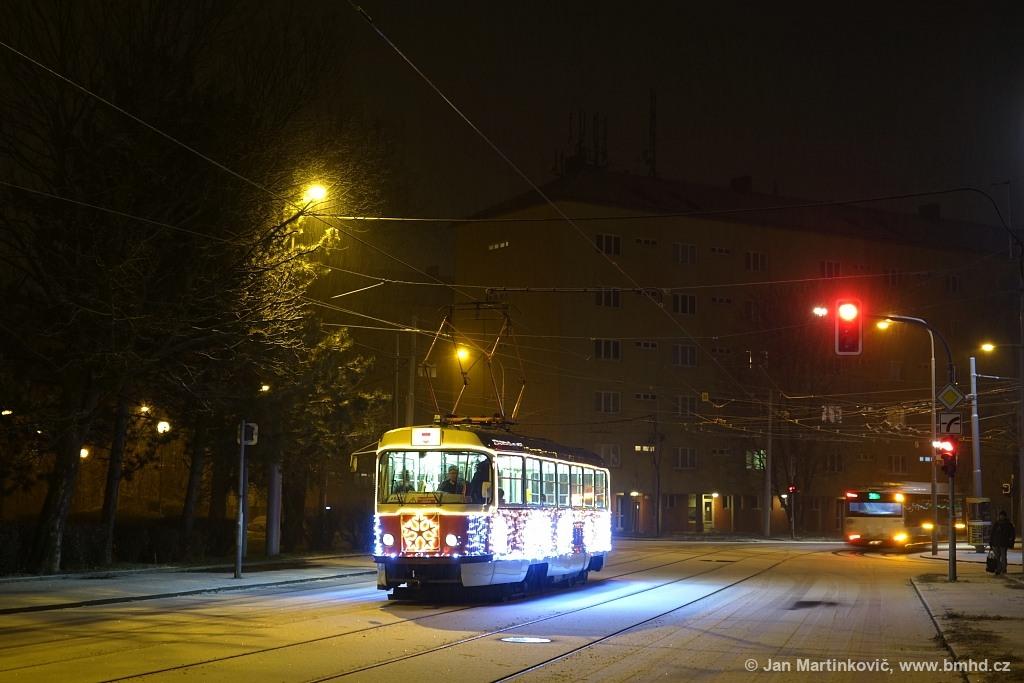 Fotogalerie » ČKD Tatra T3 1525 | Brno | Žabovřesky | Jana Babáka