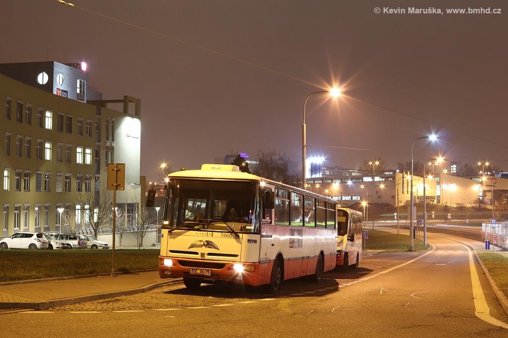 Fotogalerie » Karosa B931E.1707 BSE 94-75 7460 | Brno | Královo Pole | Purkyňova | Technologický park