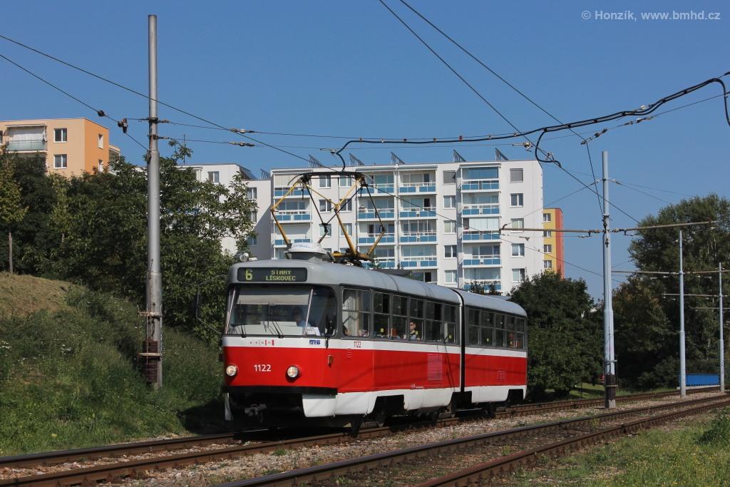 Fotogalerie » ČKD Tatra K2 1122 | Brno | Bohunice