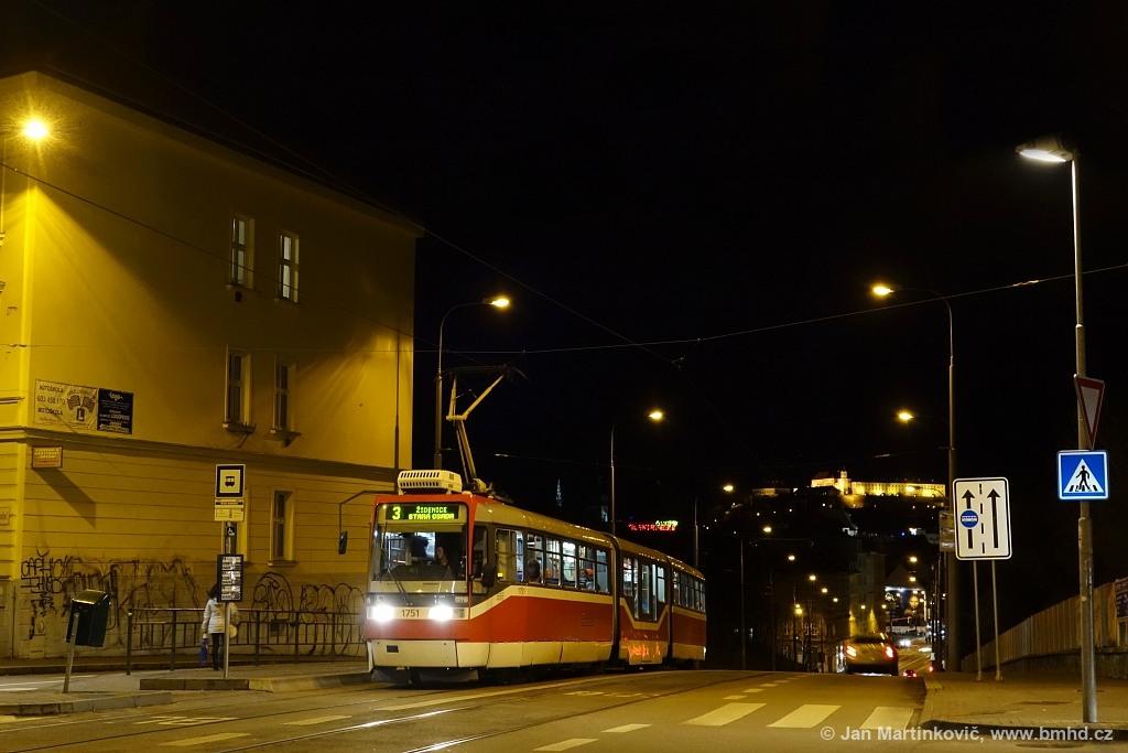 Fotogalerie » Pars Nova K3R-N 1751 | Brno | Černá Pole | Milady Horákové | Dětská nemocnice