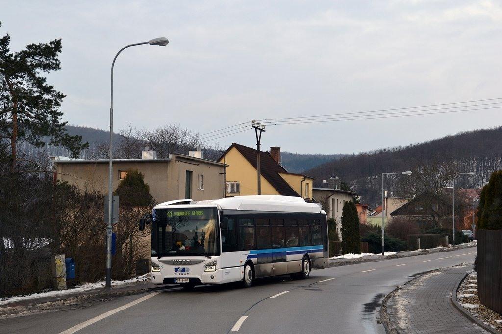 Fotogalerie » Iveco Urbanway 12M CNG 1BA 9470 | Brno | Ivanovice | Mácova | Mácova