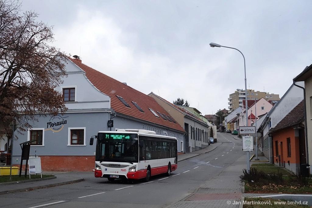 Fotogalerie » Iveco Urbanway 12M 2BC 9756 7685 | Brno | Medlánky | Kytnerova