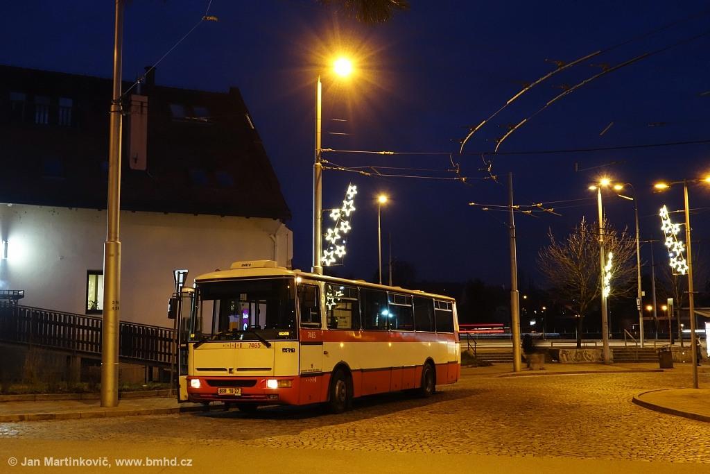 Fotogalerie » Karosa B931E.1707 BSH 16-27 7465   Brno   Bystrc   náměstí 28. dubna   Zoologická zahrada