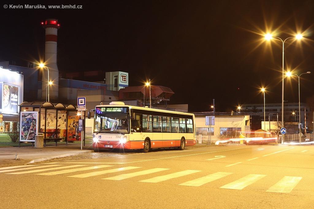 Fotogalerie » Irisbus Citelis 12M 6B6 6851 7657 | Brno | Královo Pole | Cimburkova | NC Královo Pole
