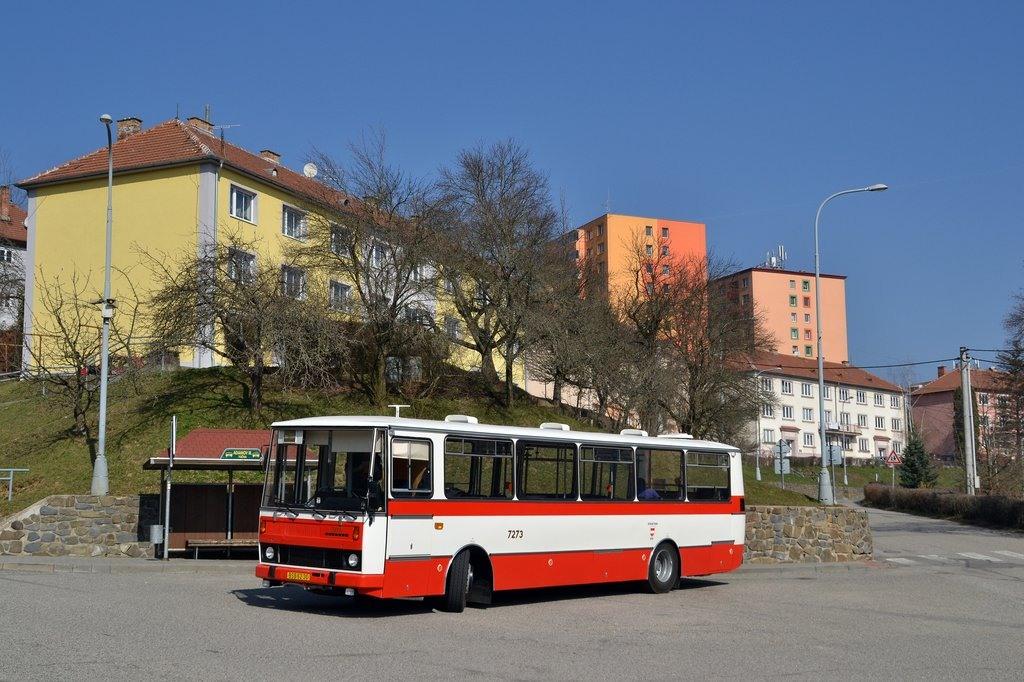 Fotogalerie » Karosa B732.40 BSB 62-30 7273 | Adamov | Opletalova | Adamov, III točna