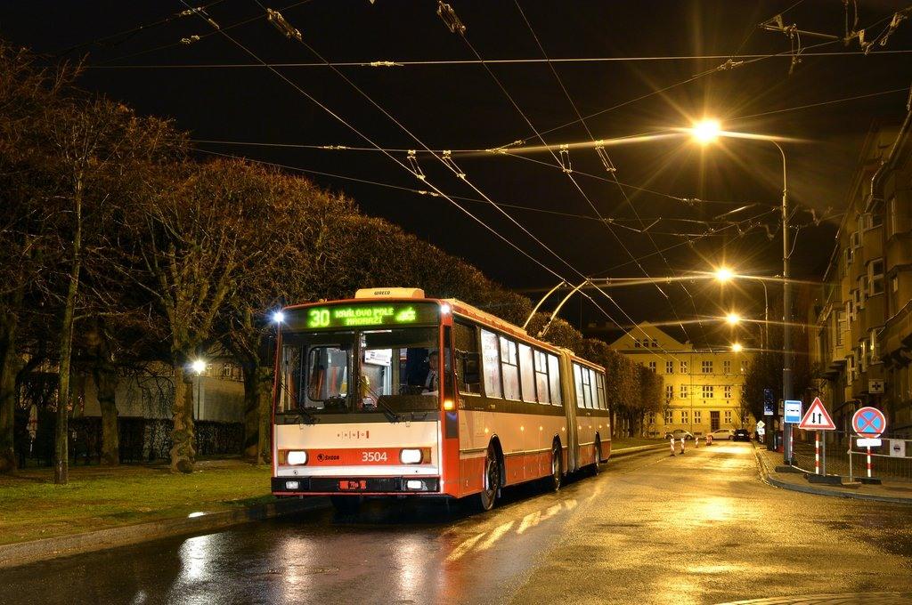 Fotogalerie » Škoda 15TrM 3504 | Brno | Královo Pole | Slovanské náměstí