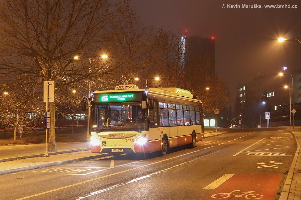 Fotogalerie » Iveco Urbanway 12M CNG 1BC 1572 7066   Brno   Královo Pole   Podnikatelská   Podnikatelská