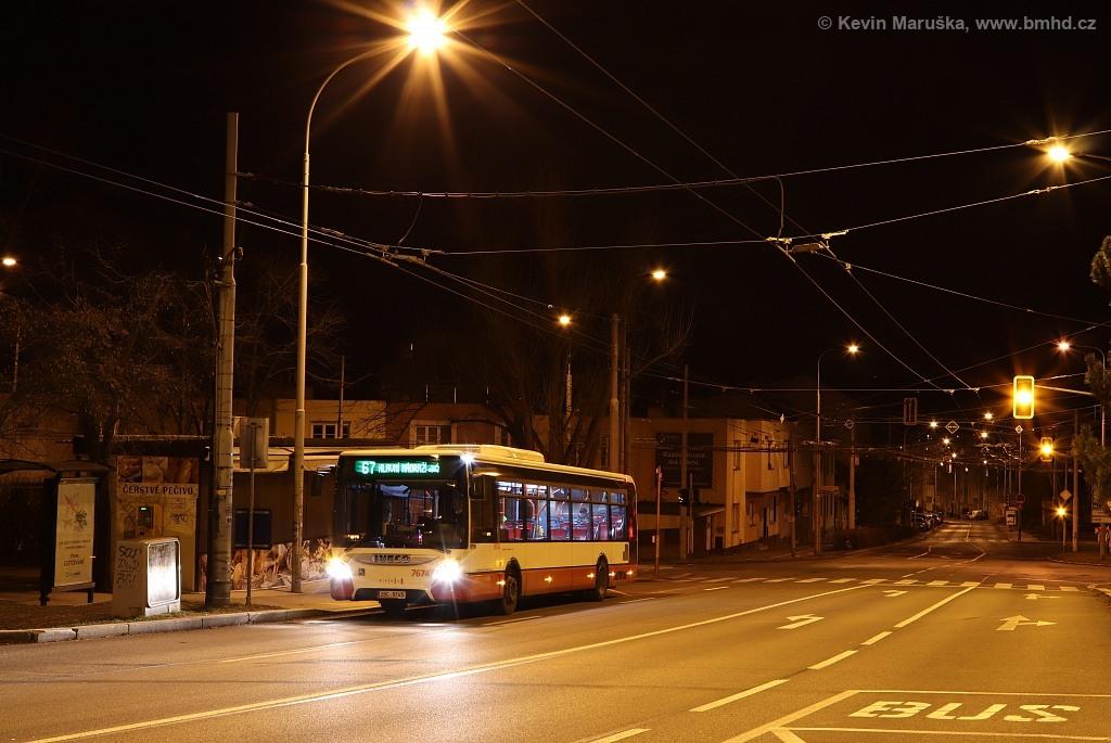 Fotogalerie » Iveco Urbanway 12M 2BC 9745 7674 | Brno | Žabovřesky | Královopolská | Přívrat