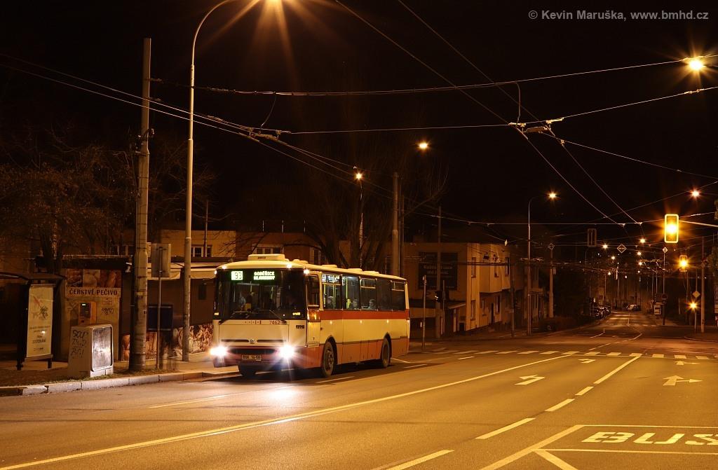 Fotogalerie » Karosa B931E.1707 BSH 14-58 7462 | Brno | Žabovřesky | Královopolská | Přívrat