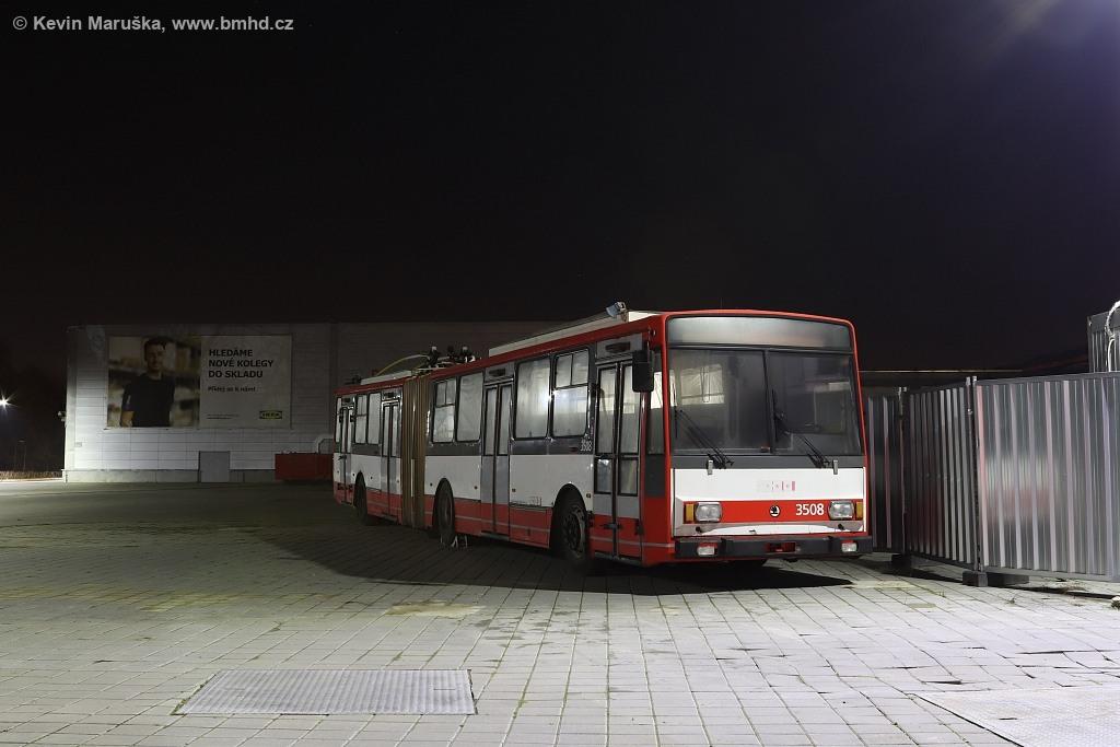 Fotogalerie » Škoda 15TrM 3508 | Brno | Dolní Heršpice | IKEA