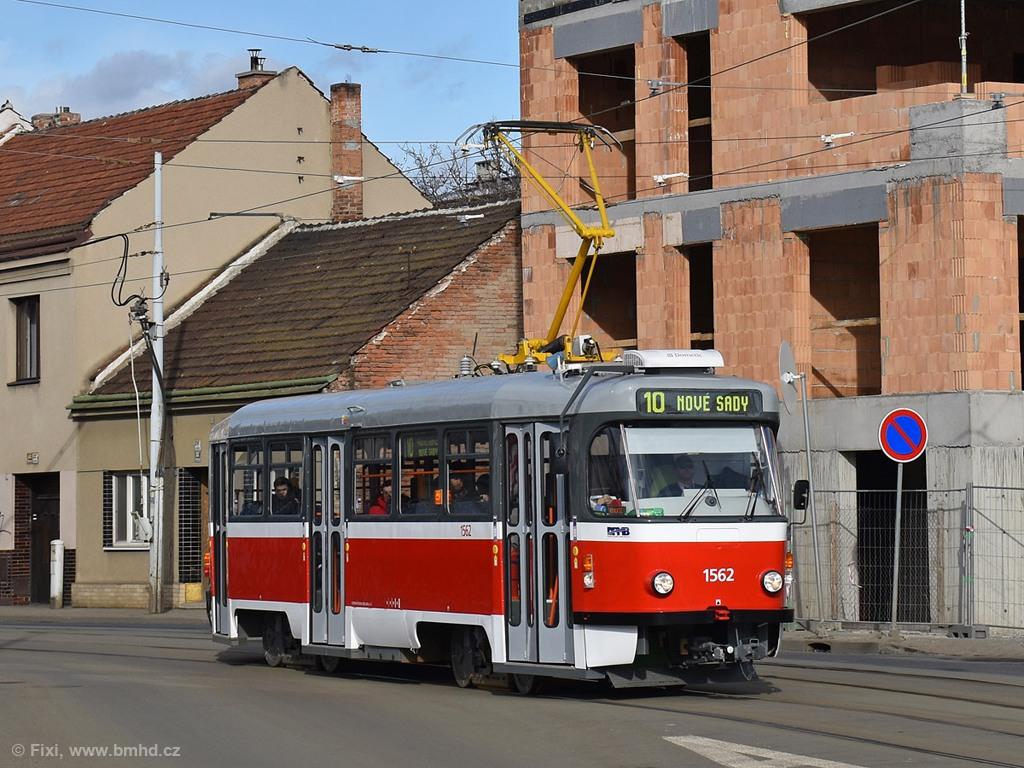 Fotogalerie » Pragoimex T3R.EV 1562 | Brno | Černovice | Životského