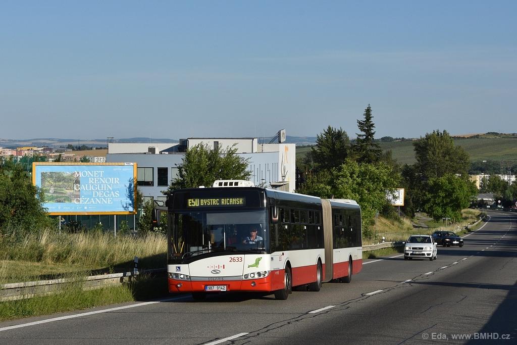 Fotogalerie » Solaris Urbino 18 III 9B7 9142 2633 | Brno | Nový Lískovec | Chironova