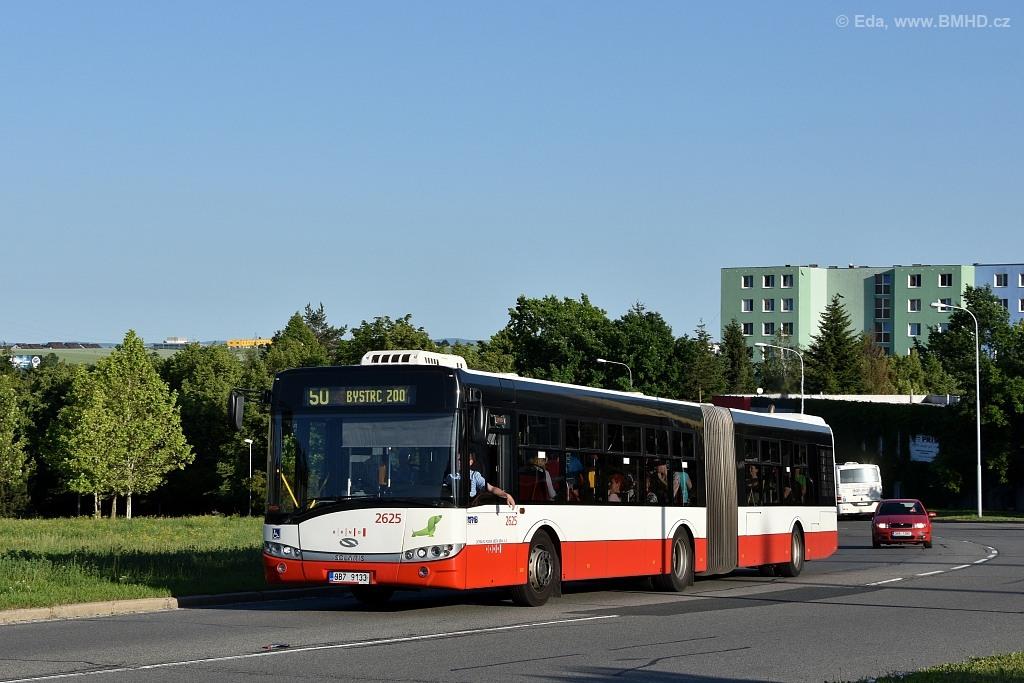 Fotogalerie » Solaris Urbino 18 III 9B7 9133 2625 | Brno | Starý Lískovec | Osová