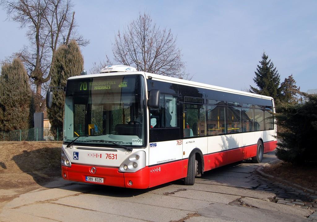 Fotogalerie » Irisbus Citelis 12M 3B9 8325 7631 | Brno | Ořešín | Ořešín