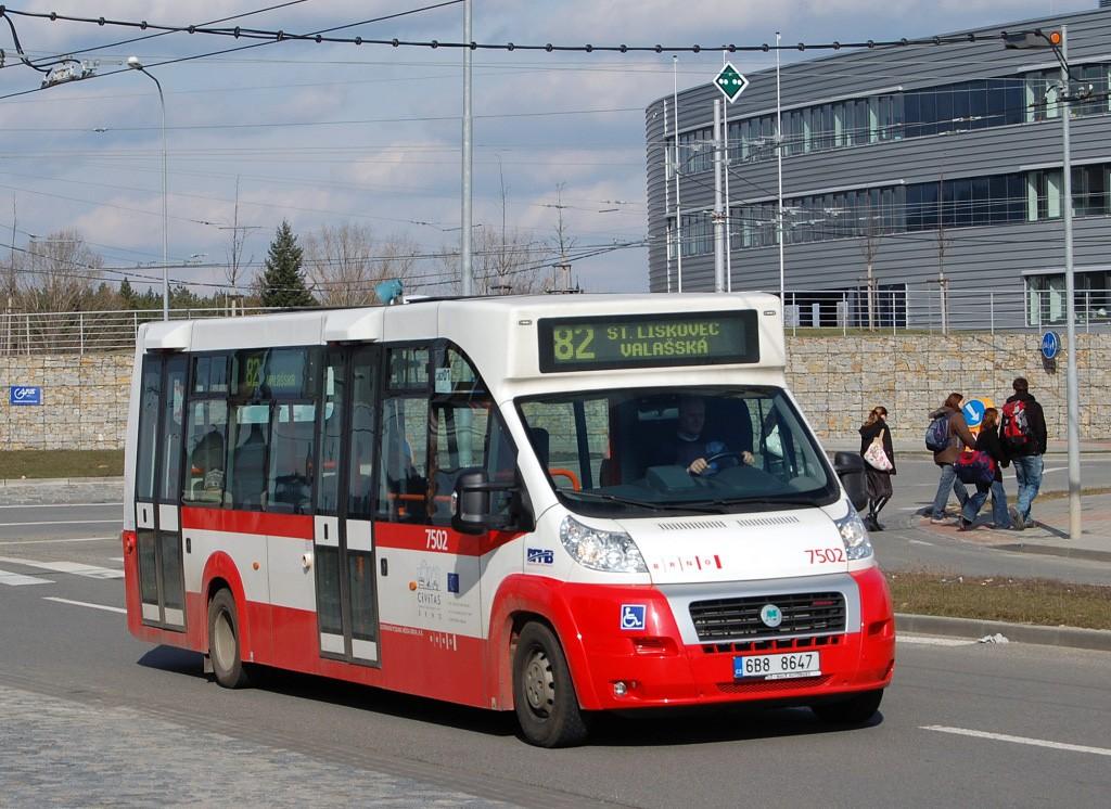 Fotogalerie » MAVE-Fiat CiBus ENA MAXI 6B8 8647 7502 | Brno | Bohunice | Kamenice