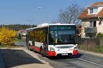 Zástupce vozů Iveco Urbanway 12M v dieselové verzi