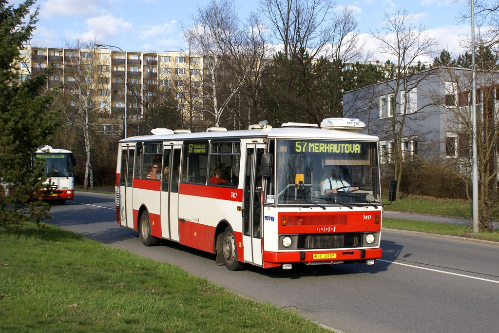 Fotogalerie » Karosa B731.1669 BSC 69-05 7417 | Brno | Lesná | Okružní