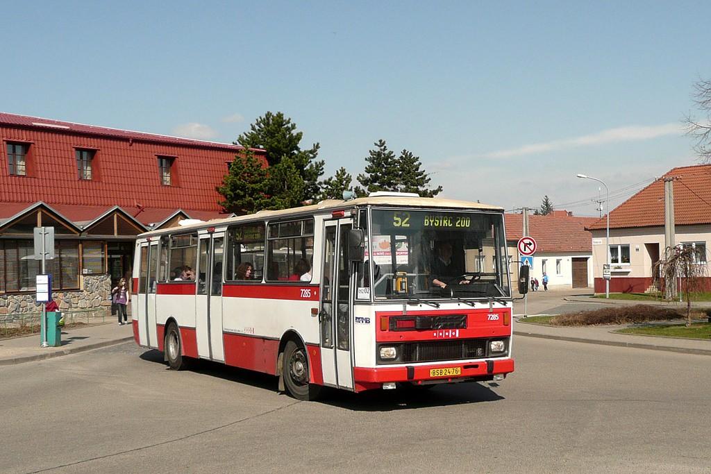 Fotogalerie » Karosa B732.1652 BSB 24-76 7285   Brno   Žebětín   Křivánkovo Náměstí   Křivánkovo Náměstí