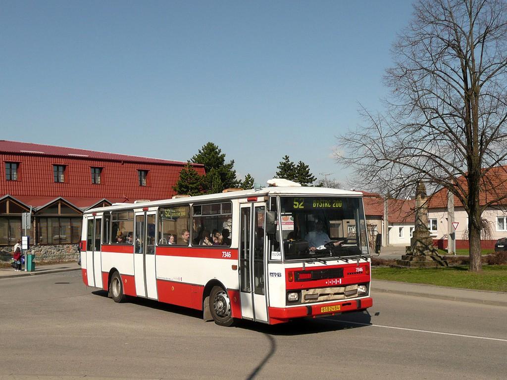 Fotogalerie » Karosa B732.1654 BSB 24-84 7346 | Brno | Žebětín | Křivánkovo náměstí