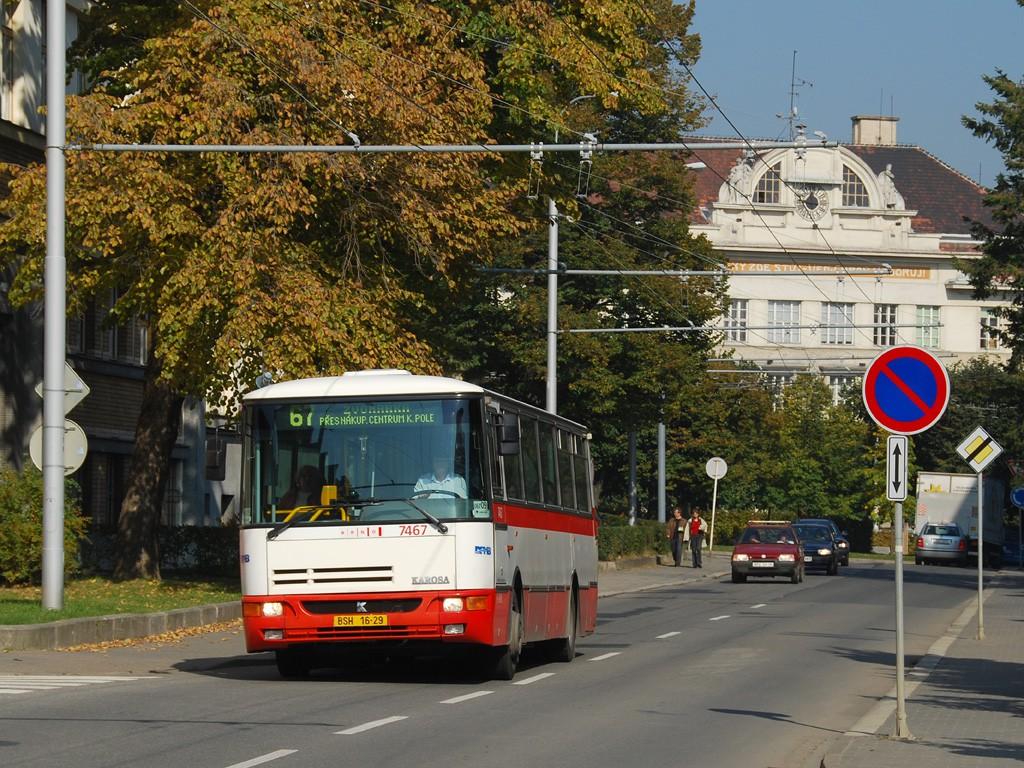Fotogalerie » Karosa B931E.1707 BSH 16-29 7467 | Brno | Královo Pole | Charvatská