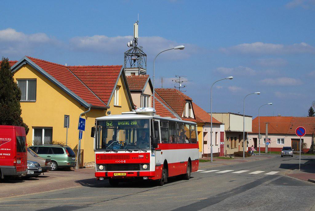 Fotogalerie » Karosa B732.1654.3 BSC 38-96 7393 | Brno | Žebětín | Kohoutovická