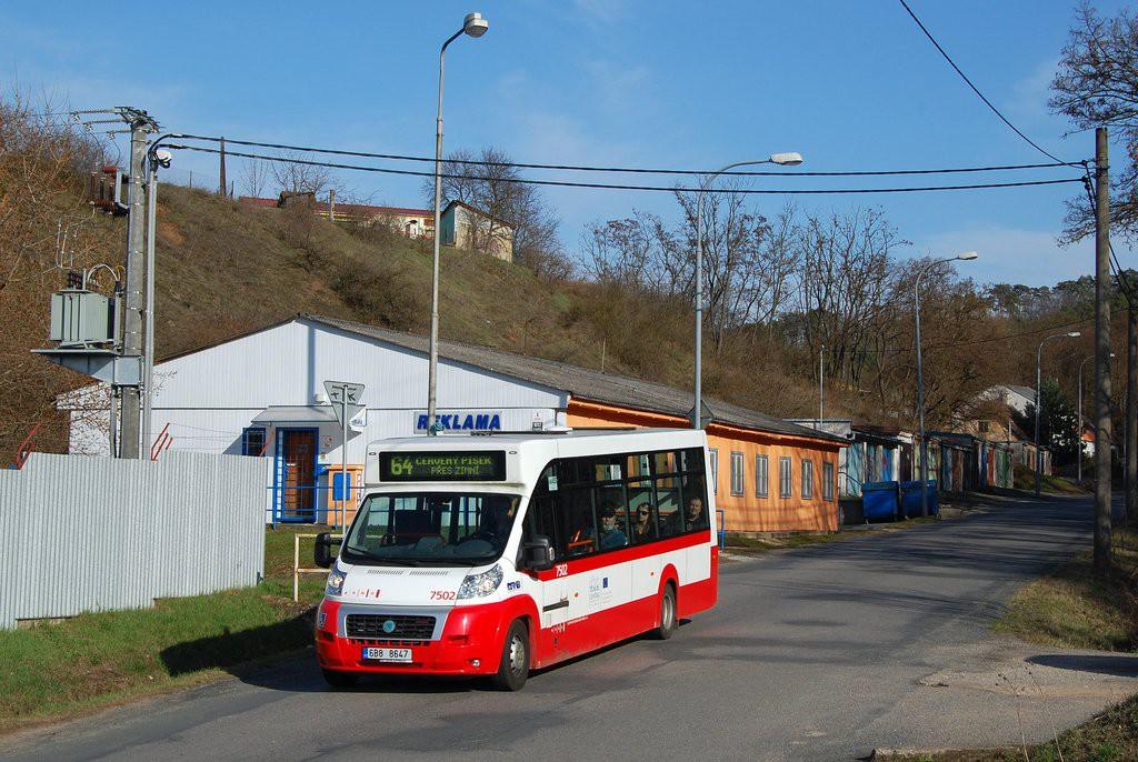 Fotogalerie » MAVE-Fiat CiBus ENA MAXI 6B8 8647 7502   Brno   Maloměřice   Zimní