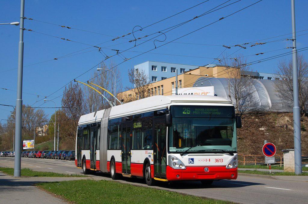 Fotogalerie » Škoda 25Tr Citelis 1B 3613   Brno   Husovice   Provazníkova