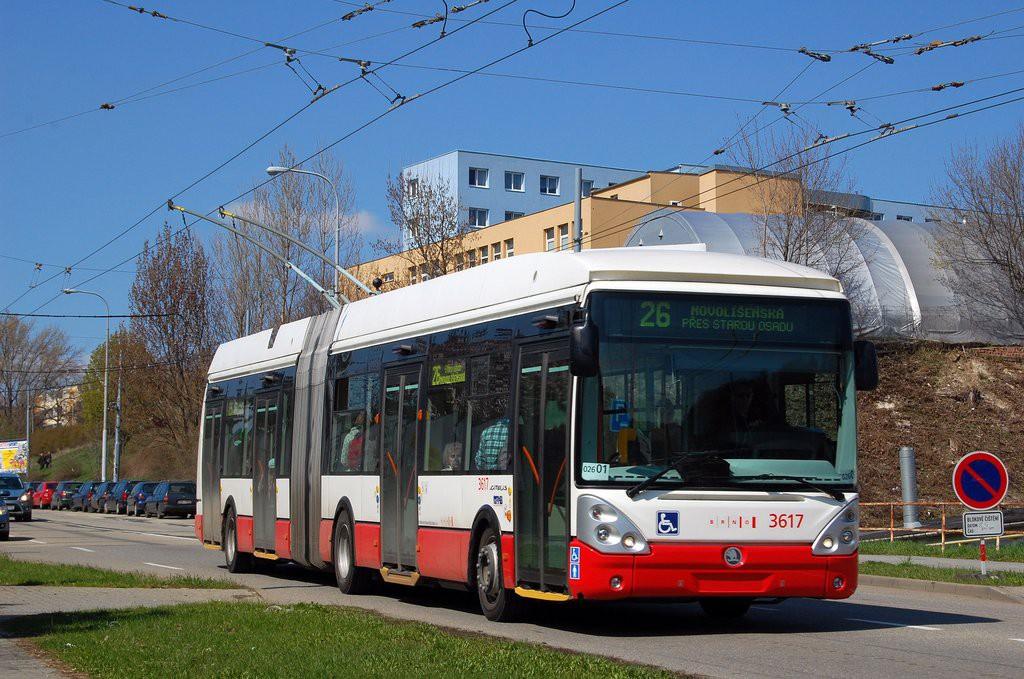 Fotogalerie » Škoda 25Tr Citelis 1B 3617 | Brno | Husovice | Provazníkova