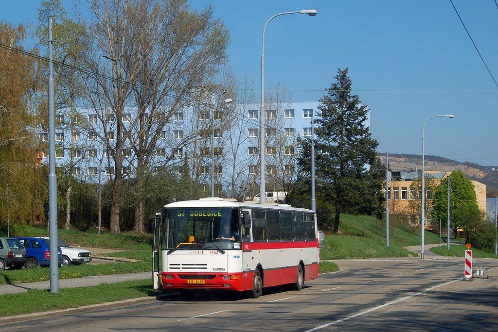 Fotogalerie » Karosa B931E.1707 BSE 94-67 7452 | Brno | Černá Pole | Provazníkova | Merhautova