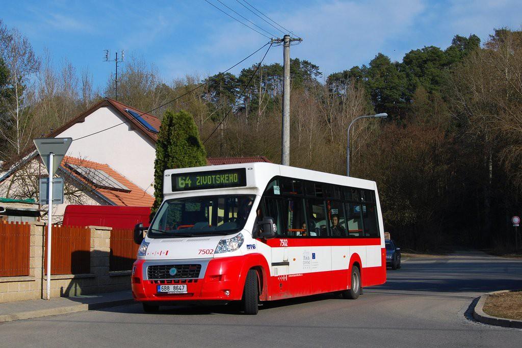 Fotogalerie » MAVE-Fiat CiBus ENA MAXI 6B8 8647 7502 | Brno | Maloměřice | Jarní | Zimní I.