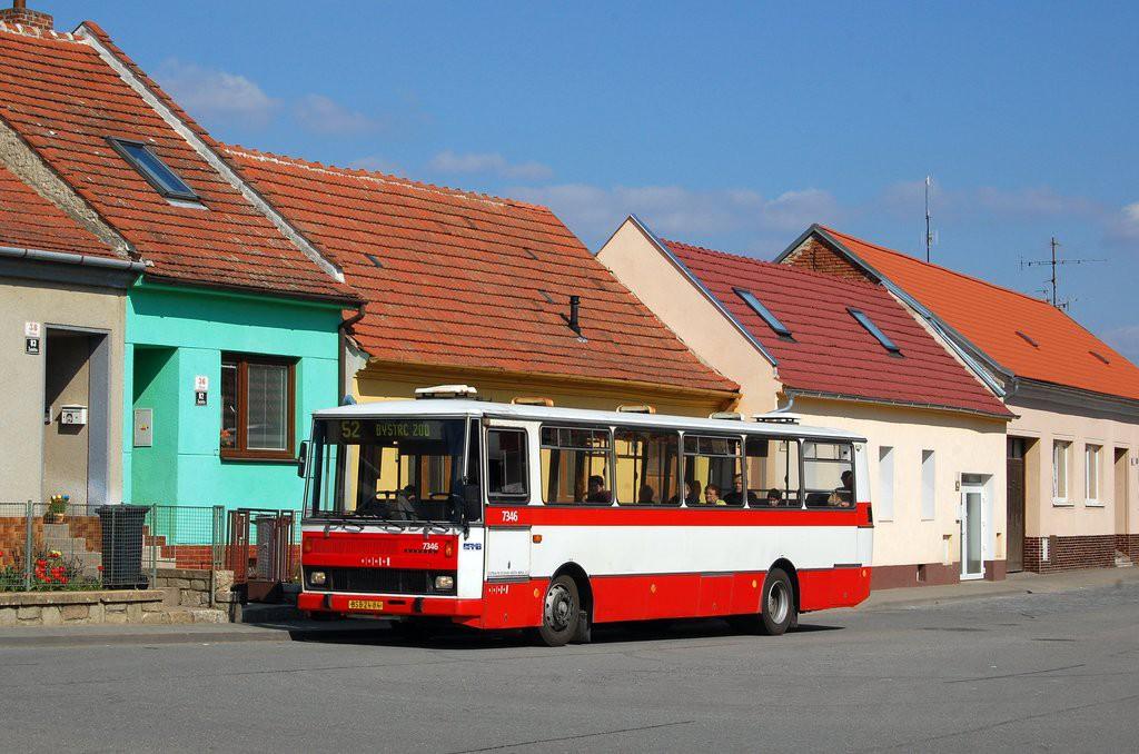 Fotogalerie » Karosa B732.1654 BSB 24-84 7346 | Brno | Žebětín | Ríšova