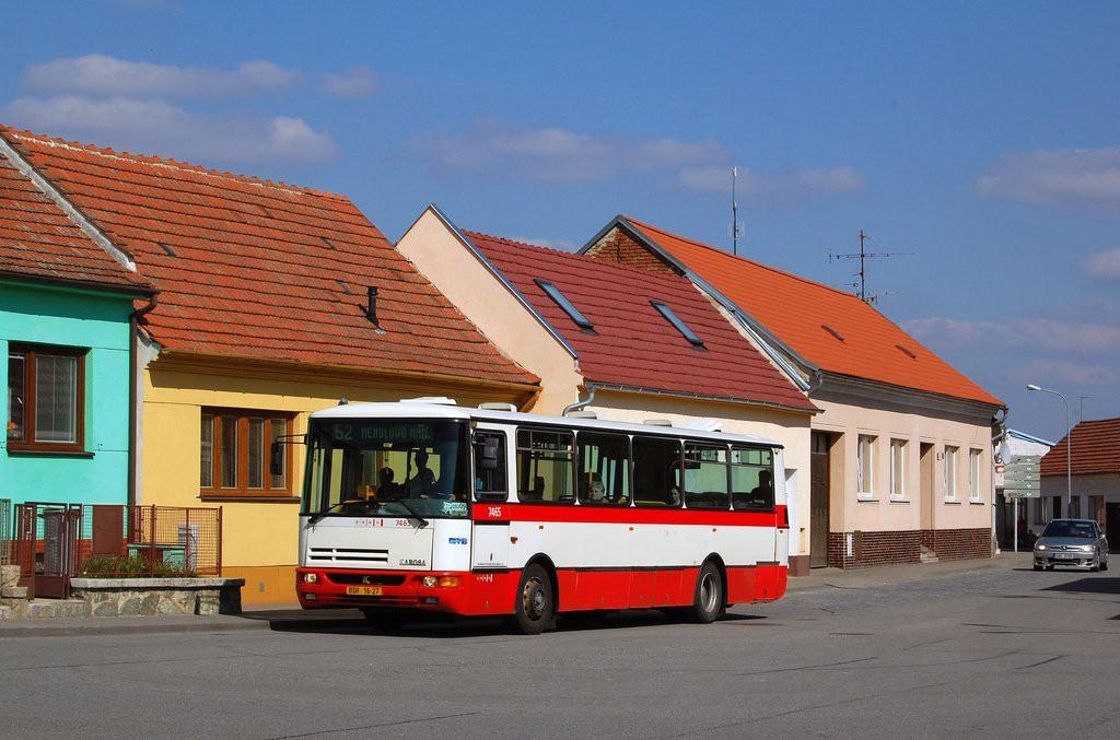 Fotogalerie » Karosa B931E.1707 BSH 16-27 7465 | Brno | Žebětín | Ríšova