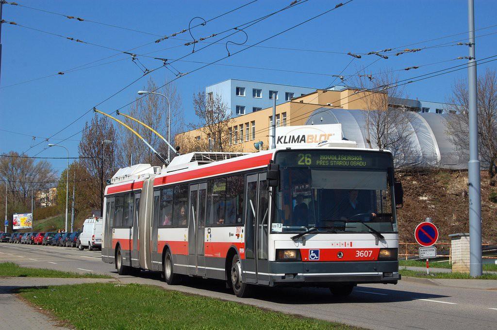 Fotogalerie » Škoda 22Tr 3607   Brno   Husovice   Provazníkova