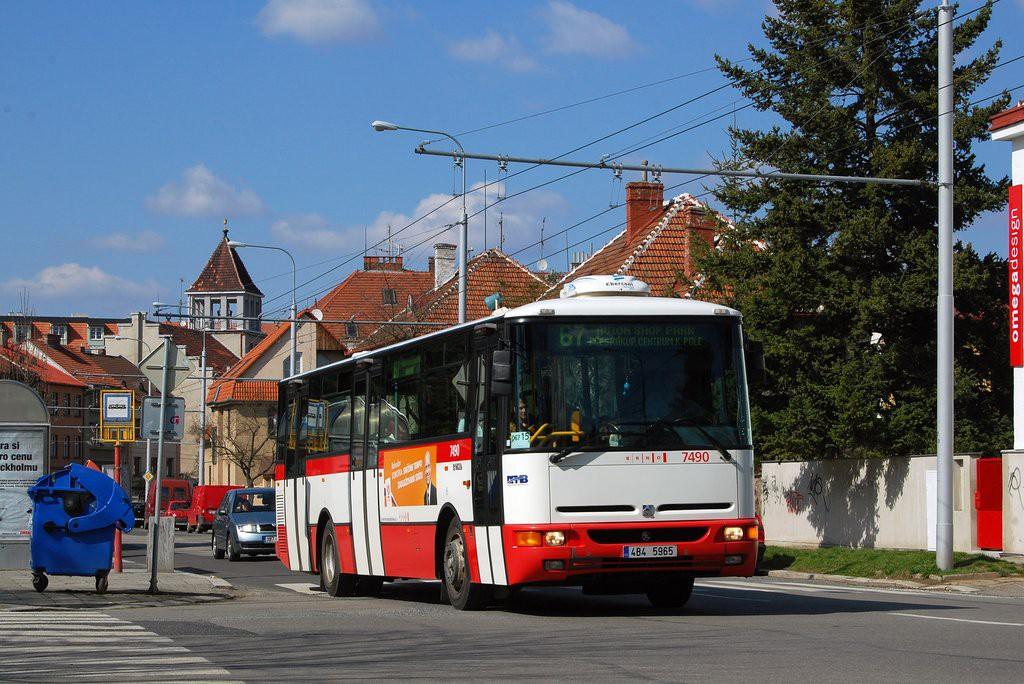 Fotogalerie » Karosa B951E.1713 4B4 5965 7490 | Brno | Královo Pole | Charvátská | Charvátská