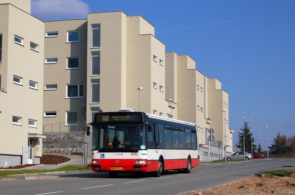 Fotogalerie » Irisbus Citybus 12M 2071.20 BZM 72-40 7610   Brno   Bystrc   Kamechy
