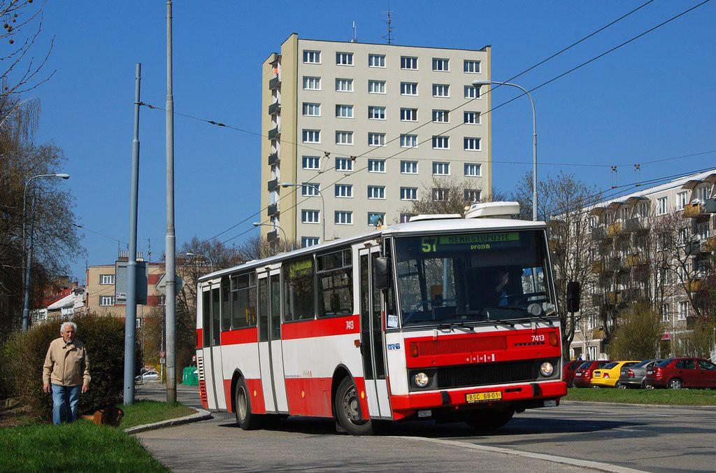 Fotogalerie » Karosa B731.1669 BSC 69-01 7413 | Brno | Černá Pole | Provazníkova