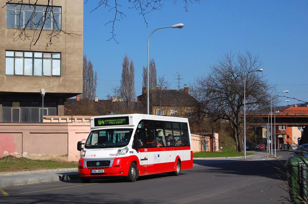 Fotogalerie » MAVE-Fiat CiBus ENA MAXI 6B6 6830 7501 | Brno | Židenice | Jílkova | Jílkova