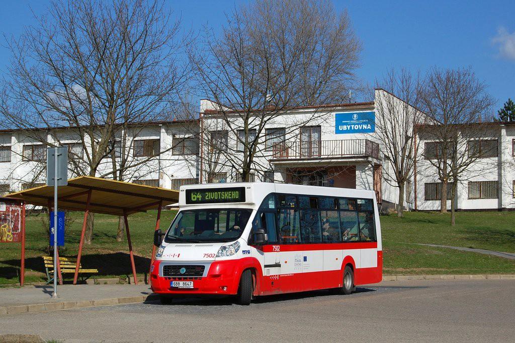 Fotogalerie » MAVE-Fiat CiBus ENA MAXI 6B8 8647 7502 | Brno | Maloměřice | Podzimní | Podzimní