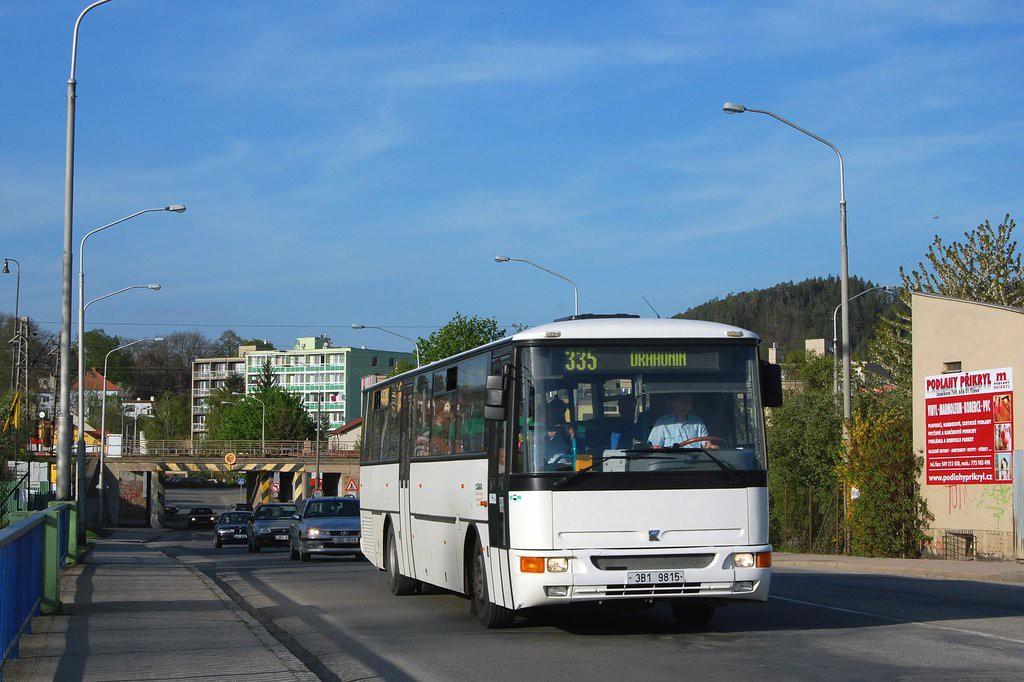 Fotogalerie » Karosa C954E.1360 3B1 9815 | Tišnov | Červený mlýn