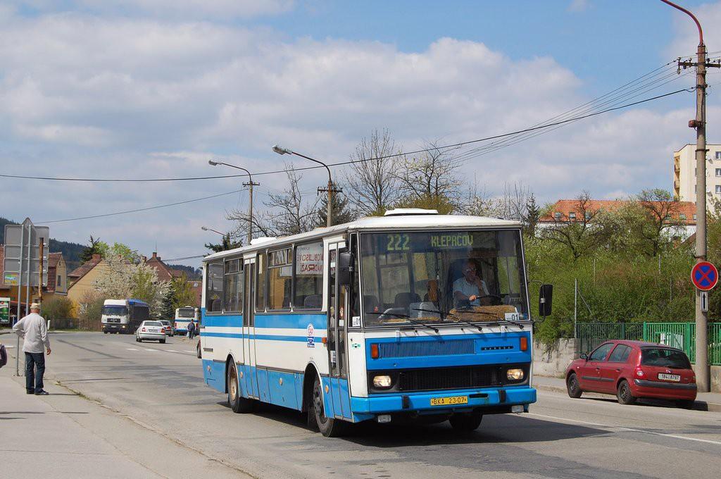 Fotogalerie » Karosa C734.40 BKA 23-07 | Blansko | Svitavská