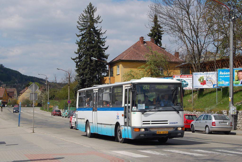 Fotogalerie » Karosa C934.1351 BKA 48-20 | Blansko | Svitavská