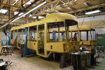 Karoserie tramvají EVO2 na počátku kompletace