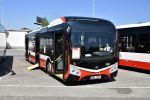 Představení prvního z 20 dodaných vozů NS 12 proběhlo na konci sprna 2020 na DOD ve vozovně Slatina. Spolu s dalšími 20 autobusy Urbino 18 IV umožnily významně omladit vozový park