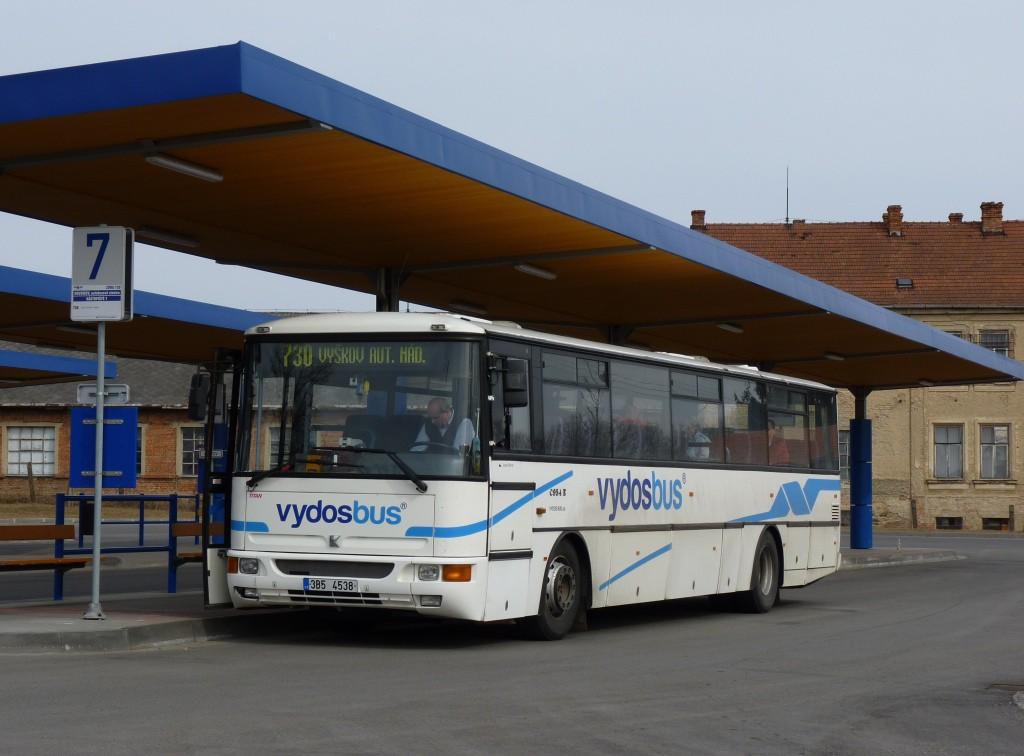Fotogalerie » Karosa C954E.1360 3B5 4538   Rousínov   autobusová stanice