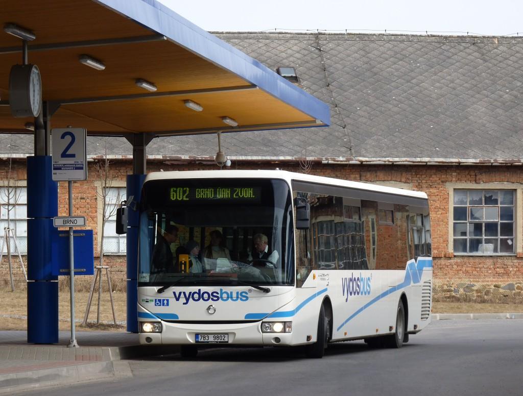 Fotogalerie » Irisbus Crossway LE 12.8M 7B3 9802 | Rousínov | autobusová stanice