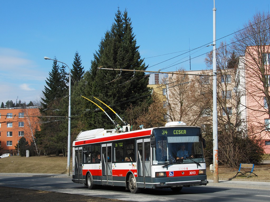 Fotogalerie » Škoda 21Tr 3013 | Brno | Žabovřesky | Korejská