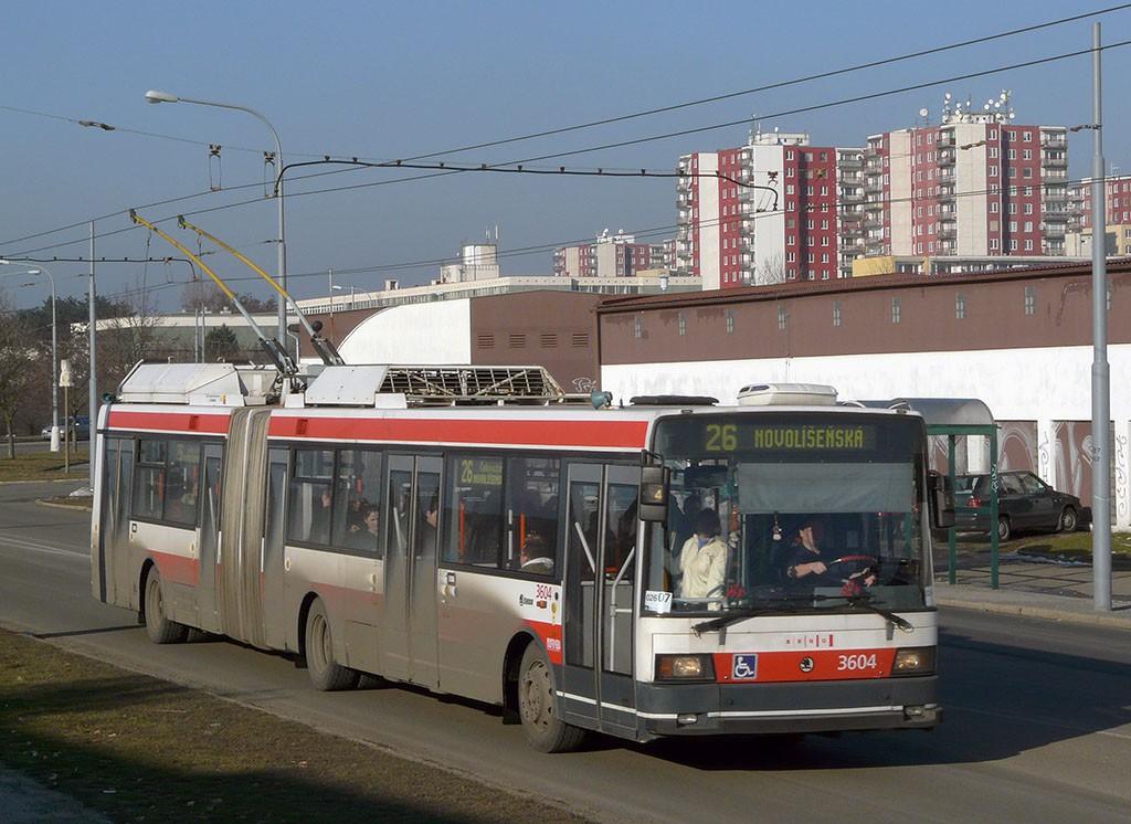 Fotogalerie » Škoda 22Tr 3604 | Brno | Vinohrady | Věstonická