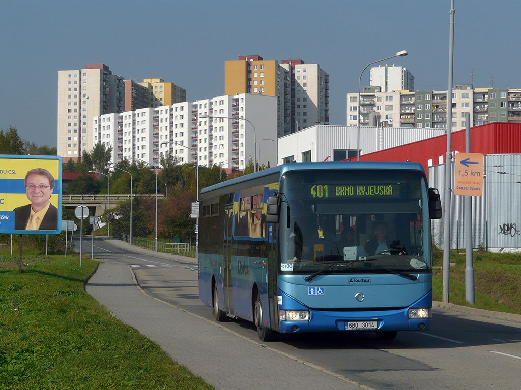 Fotogalerie » Irisbus Crossway LE 12M 6B0 3014 | Brno | Starý Lískovec | Jemelkova